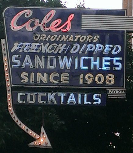 coles sign