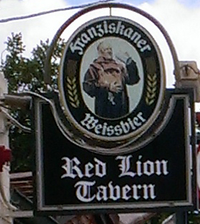 red lion sign2