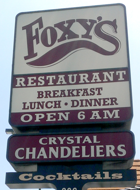 1964 Foxy S Restaurant Glendale Remains Of L A