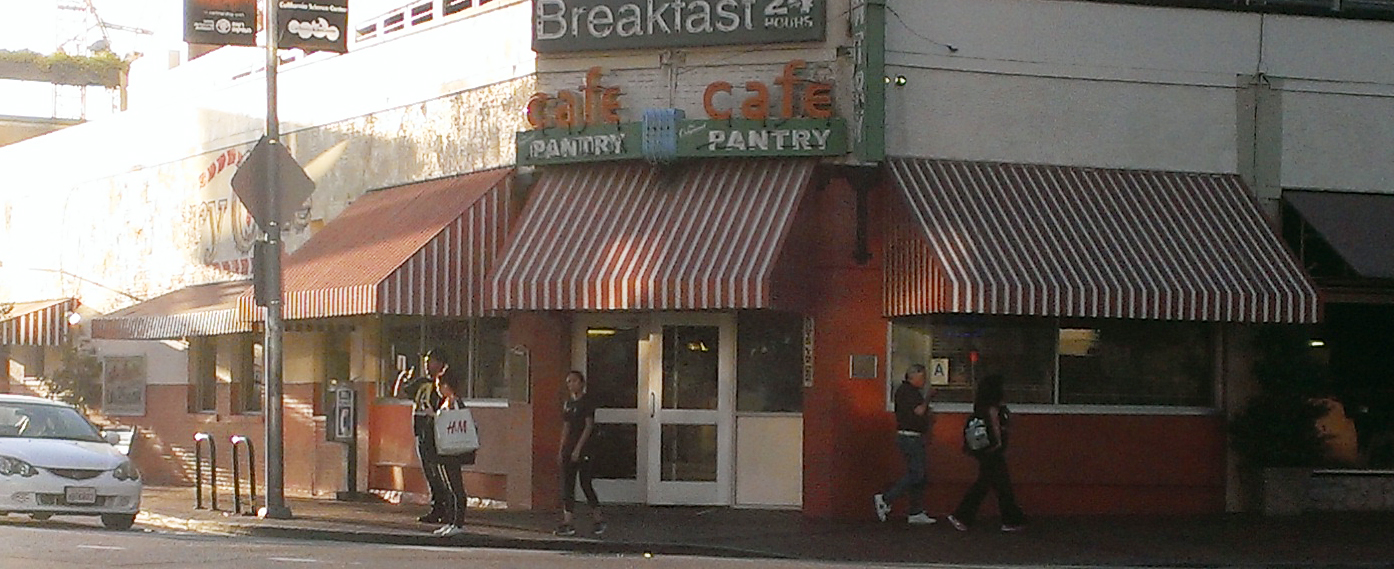 1924 original pantry cafe downtown l a remains of l a