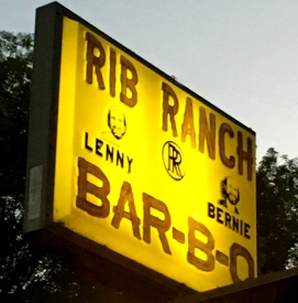 Rib Ranch y sign 2