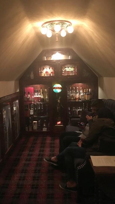 Bergins smlrywhiskey room 112